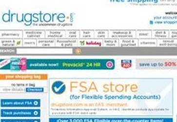 Drugstore.com steers consumers to FSA Store
