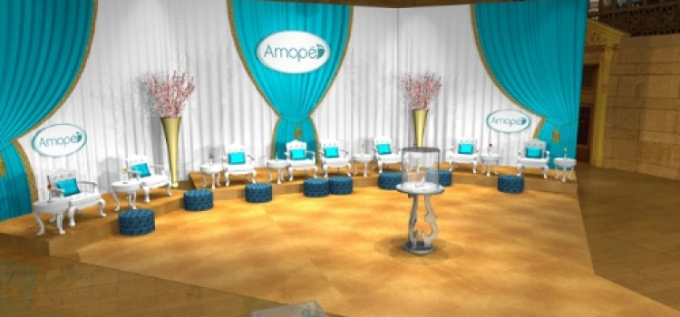 Amope Pedi Perfect to star in event at NYC's Grand Central