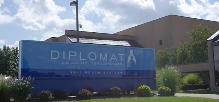 Diplomat promotes pair of executives