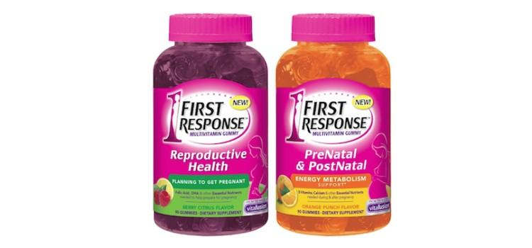 Church & Dwight unveils First Response gummy multivitamins