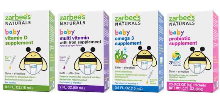 Zarbee's launches baby vitamins, supplements