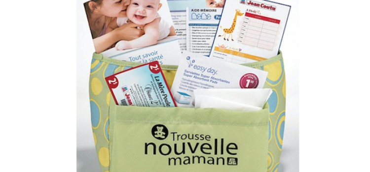 Jean Coutu offers kit for new moms
