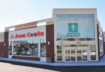Sales at Jean Coutu rise in 4Q, full year