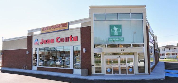 Sales at Jean Coutu rise in 4Q, full year