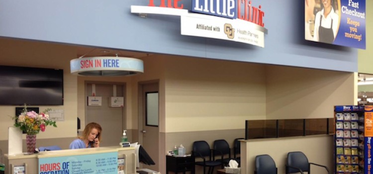The Little Clinic online tool will 'hold your spot'