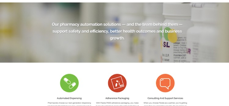 Parata Systems goes live with new website