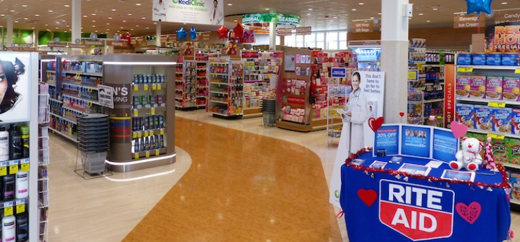 April same-store sales gain at Rite Aid