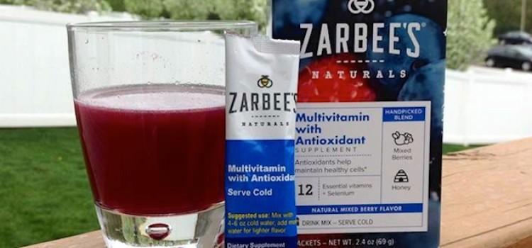 Zarbee's Naturals introduces Vitamin Drink Mixes