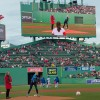 CVS makes pitch at Fenway for Lung Force