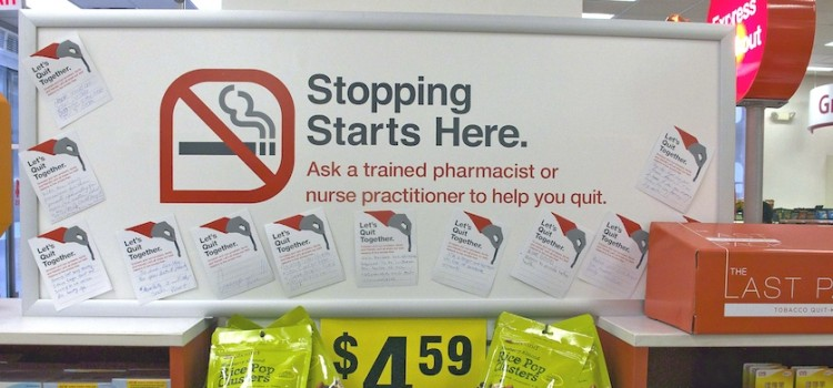 CVS to offer employees incentives to quit smoking