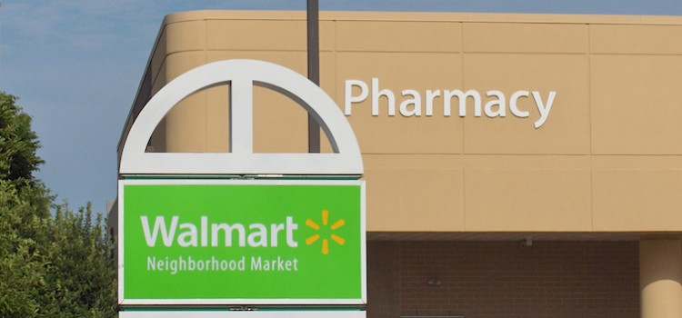 Walmart challenges drug stores in retail health care