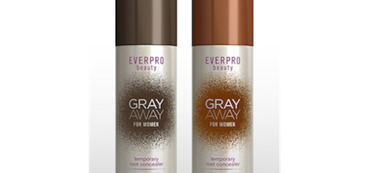 EverPro debuts Gray Away root concealer