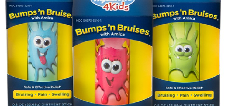Hyland's launches 4 Kids Bumps 'n Bruises with Arnica