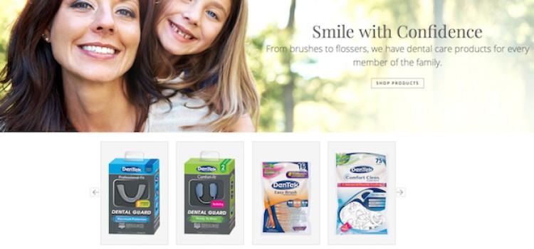 DenTek launches e-commerce website