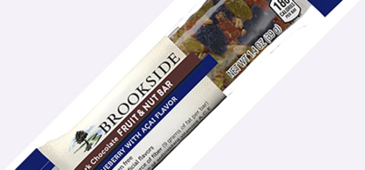 Hershey extends Brookside line with fruit & nut bars