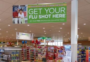 Walgreens, Rite Aid kick off flu shot campaigns