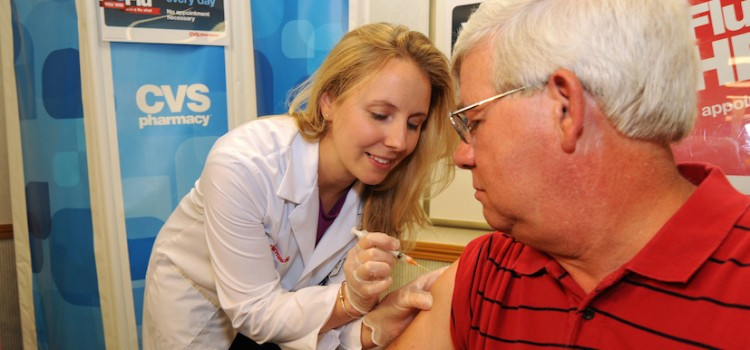 CVS Health encourages people to get flu shot during National Influenza Vaccination Week