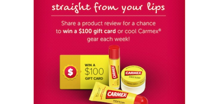 Carmex campaign spotlights online product reviews