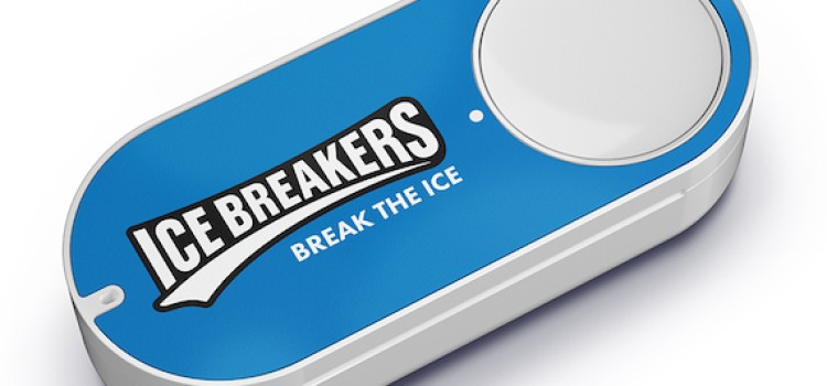 Hershey offers Ice Breakers via Amazon Dash Button