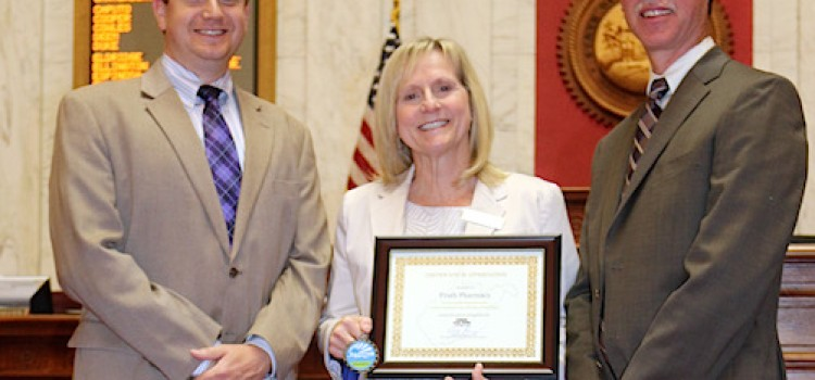 Fruth recognized for stop-meth efforts