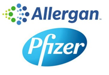 Allergan, Pfizer: We're in discussions