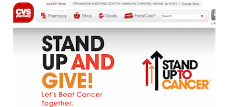CVS in-store campaign supports cancer research