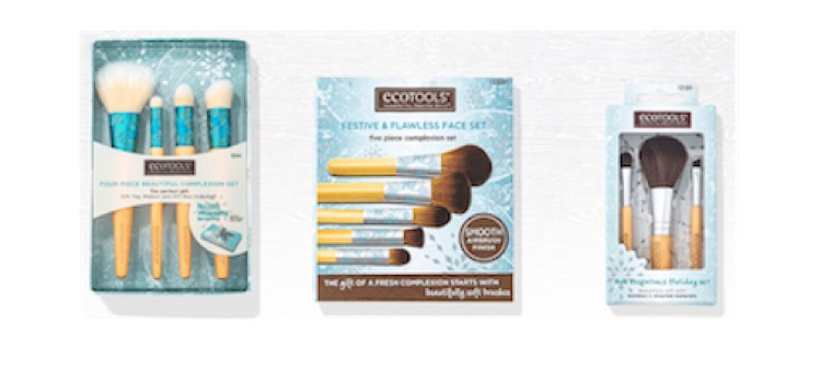 EcoTools unveils holiday brush sets
