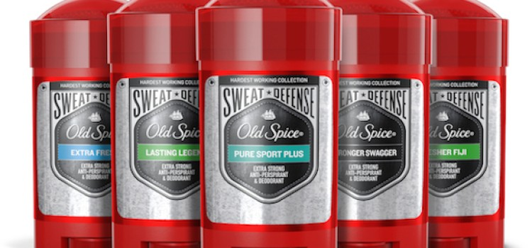 Old Spice unveils Hardest Working Collection