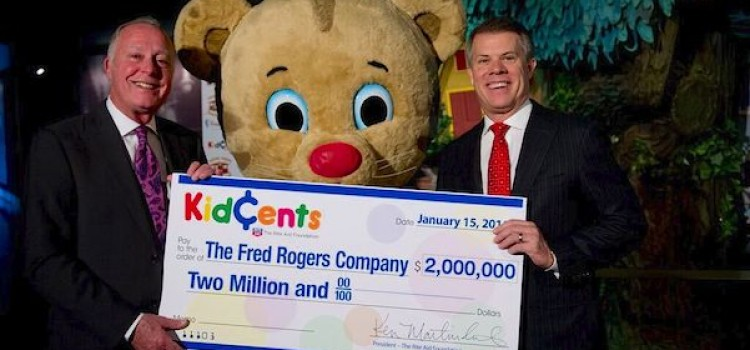 Rite Aid Foundation donates $2 million to Fred Rogers Company