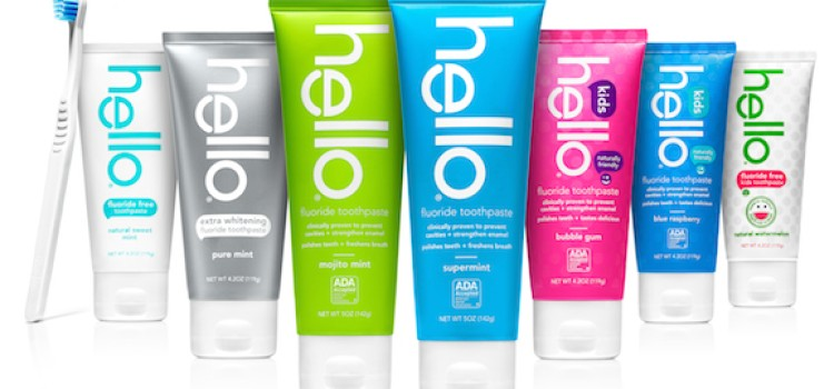 Hello rolls out Naturally Friendly Toothpaste to stores