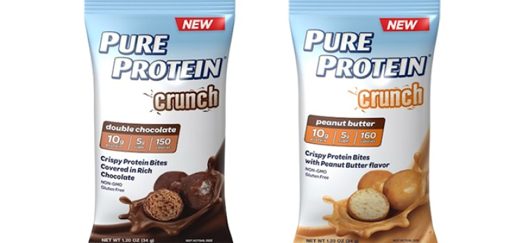 Pure Protein introduces crispy snack bites