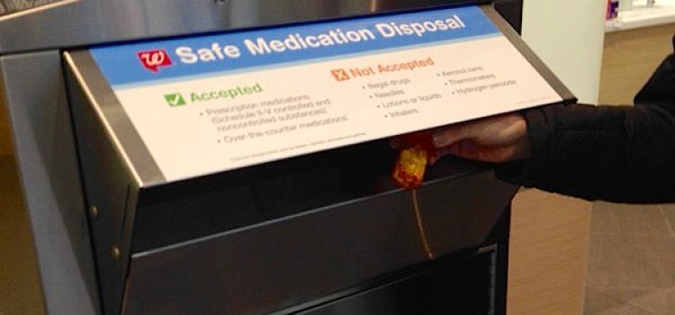 Walgreens deploys drug disposal kiosks in N.J.
