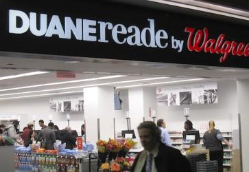 Duane Reade stars at NYC's Penn Station