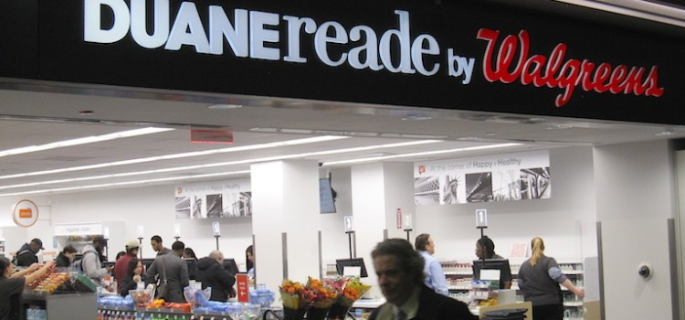 Duane Reade stars at NYC's Penn Station