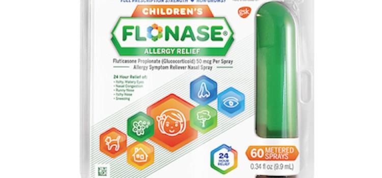 GSK rolls out Children's Flonase allergy spray
