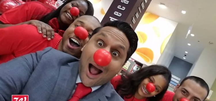 Walgreens gets Red Nose Day under way