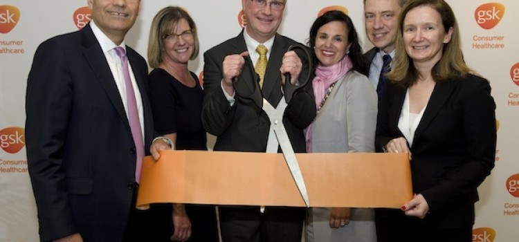 GlaxoSmithKline officially opens new HQ