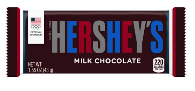 Hershey products to sport Team USA colors