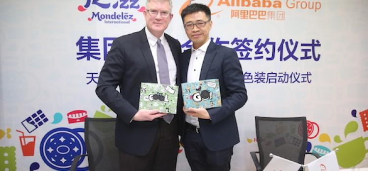 Mondelez teams up with Alibaba Group