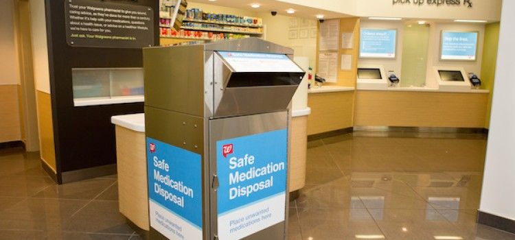 Walgreens rolls out drug disposal kiosks in Calif.