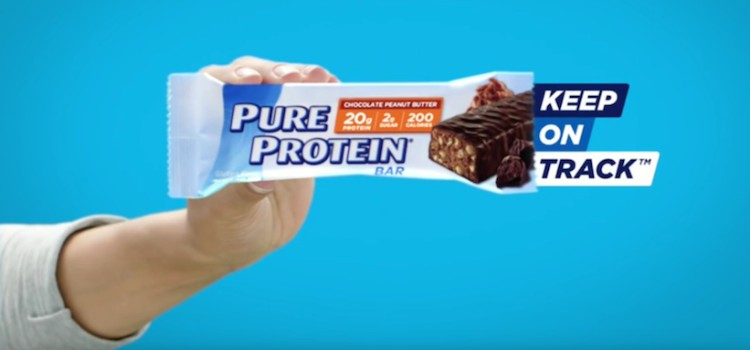 Pure Protein campaign aims to keep health goals on track