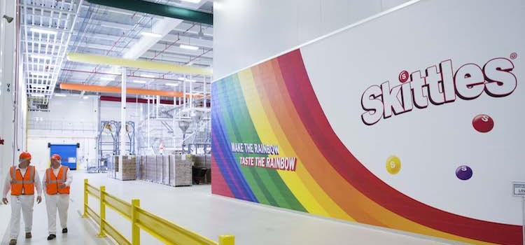 Skittles brand drives Wrigley factory expansion