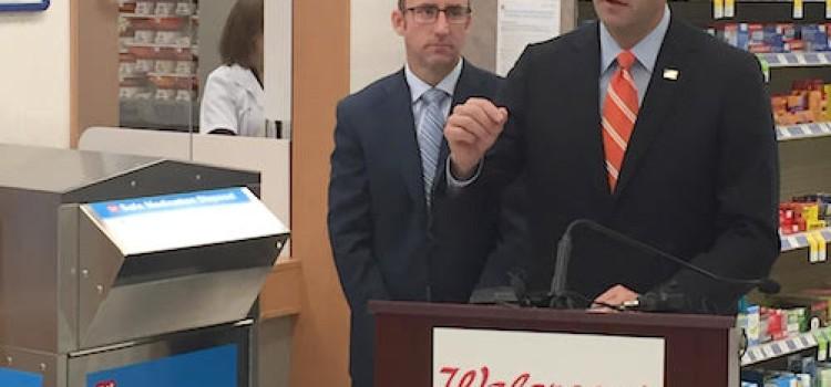 House Speaker Paul Ryan pays visit to Walgreens