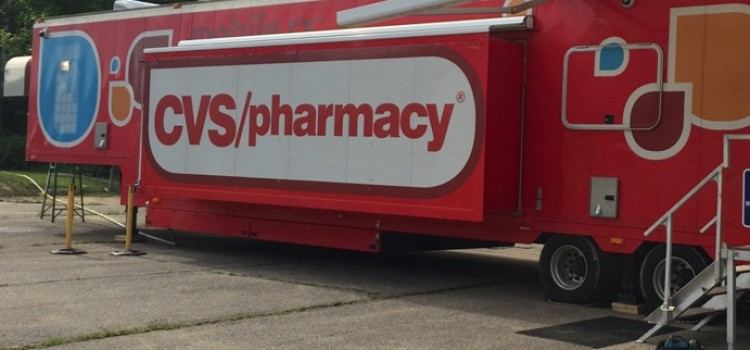CVS mobile pharmacy sets up at Baton Rouge-area store