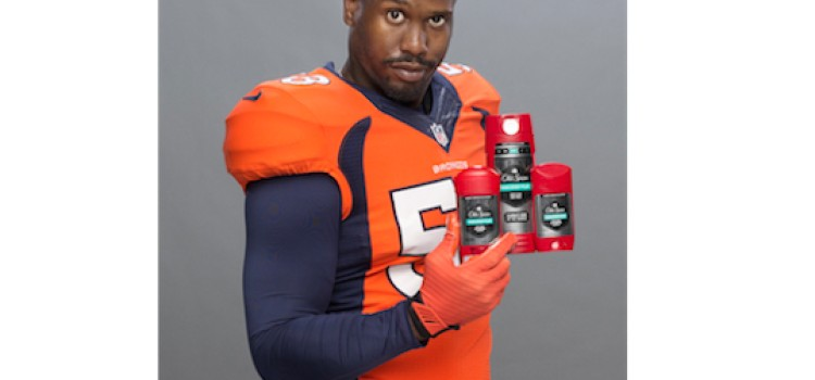 NFL's Von Miller tabbed as new 'Old Spice Guy'
