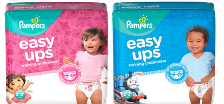 Pampers unveils new Easy Ups Training Underwear