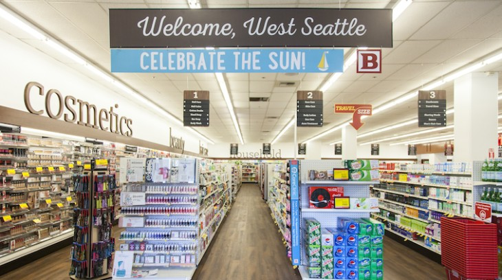 The remodeled store in West Seattle.