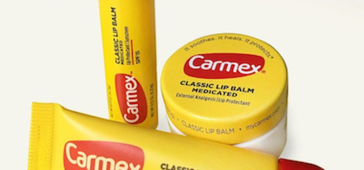 Carmex packaging sports new look