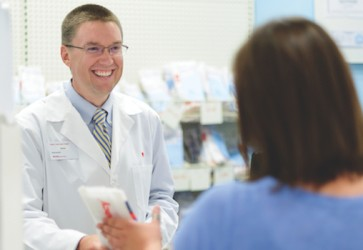 For CVS Target pharmacist, patients stand out