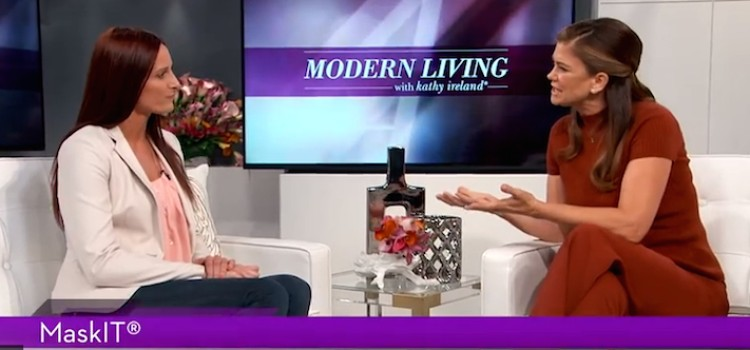 MaskIT CEO appears on 'Modern Living with Kathy Ireland'